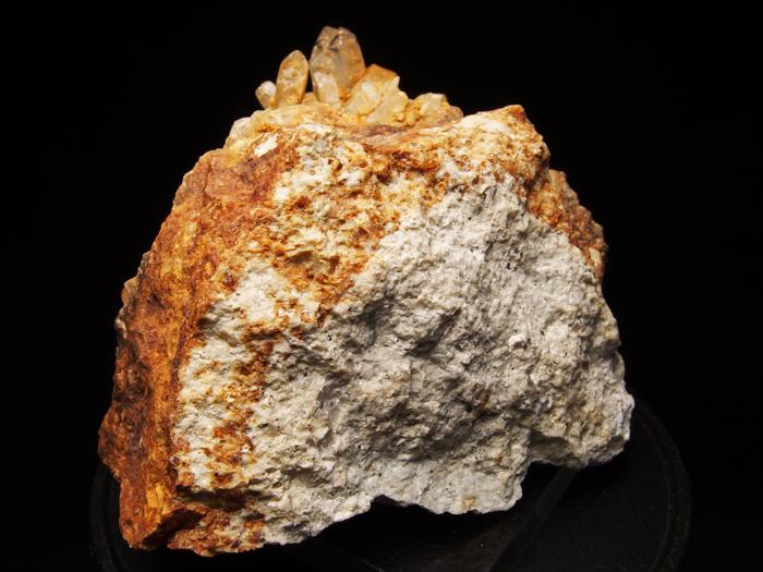 岐阜県荘川町産 松茸水晶&黄鉄鉱 (Scepter Quartz & Pyrite/ Japan)-photo2