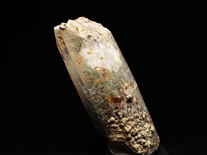 大分県尾平鉱山産 水晶、クーク石&透閃石 <まりも水晶> (Quartz, Cookeite & Tremolite / Japan)-photo6