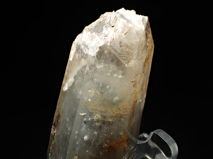 大分県尾平鉱山産 水晶、クーク石&透閃石 <まりも水晶> (Quartz, Cookeite & Tremolite / Japan)-photo9