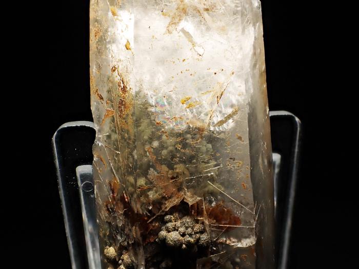 大分県尾平鉱山産 水晶、クーク石&透閃石 <まりも水晶> (Quartz, Cookeite & Tremolite / Japan)-photo18