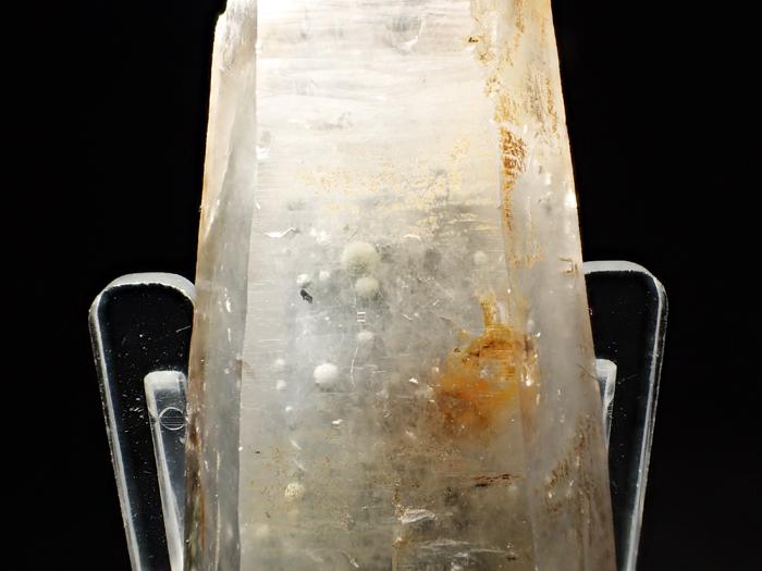 大分県尾平鉱山産 水晶、クーク石&透閃石 <まりも水晶> (Quartz, Cookeite & Tremolite / Japan)-photo19