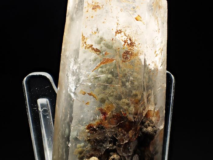大分県尾平鉱山産 水晶、クーク石&透閃石 <まりも水晶> (Quartz, Cookeite & Tremolite / Japan)-photo20