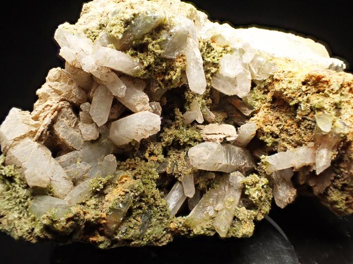 兵庫県明延鉱山産 水晶&緑簾石 (Quartz & Epidote / Japan)-photo10