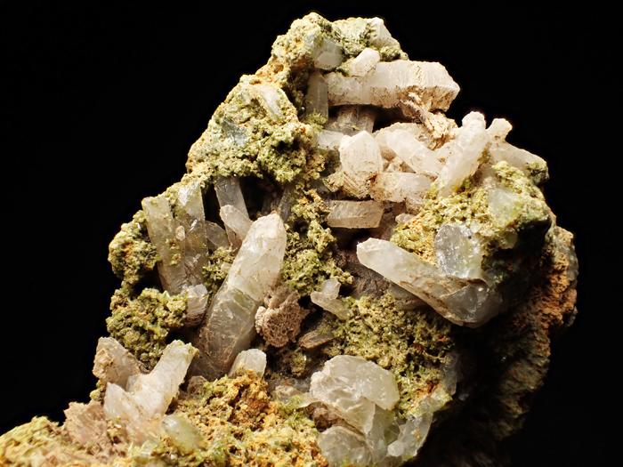 兵庫県明延鉱山産 水晶&緑簾石 (Quartz & Epidote / Japan)-photo12