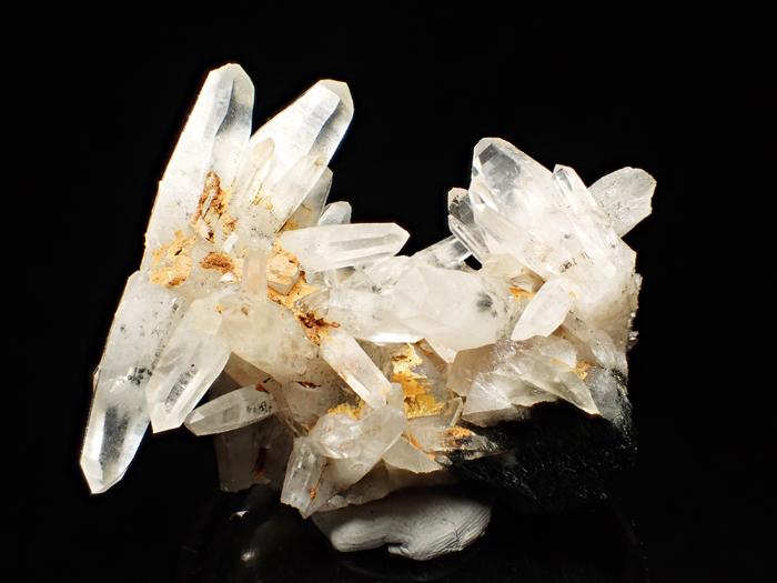 大分県尾平鉱山産 水晶&苦土フォイト電気石 (Quartz & Magnesiofoitite / Japan)-photo0