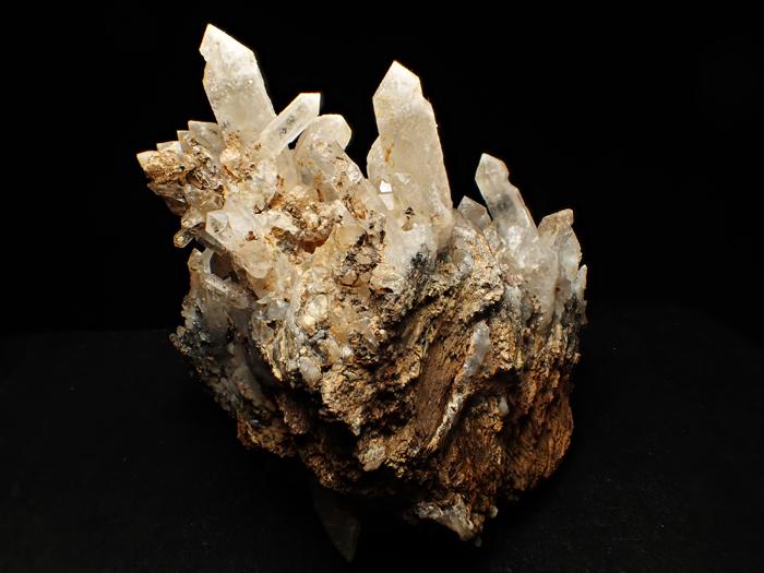 奈良県天川村産 水晶、珪灰鉄鉱&方解石 (Quartz, Ilvaite & Calcite / Japan)-photo4