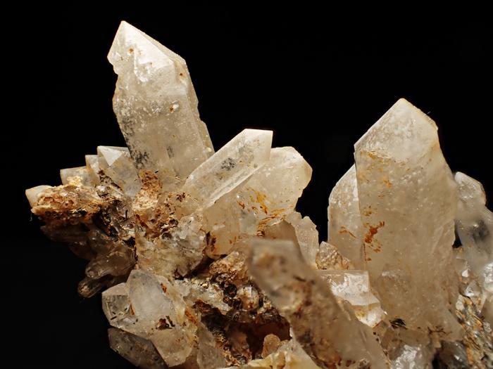 奈良県天川村産 水晶、珪灰鉄鉱&方解石 (Quartz, Ilvaite & Calcite / Japan)-photo12