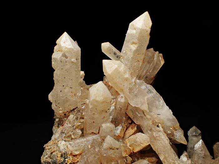 奈良県天川村産 水晶、珪灰鉄鉱&方解石 (Quartz, Ilvaite & Calcite / Japan)-photo14