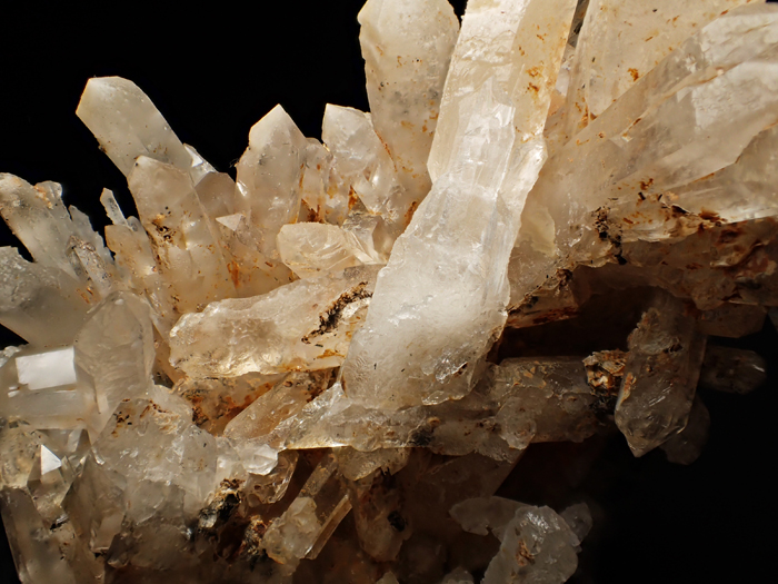 奈良県天川村産 水晶、珪灰鉄鉱&方解石 (Quartz, Ilvaite & Calcite / Japan)-photo17