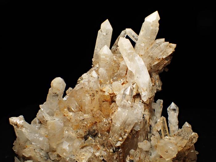 奈良県天川村産 水晶、珪灰鉄鉱&方解石 (Quartz, Ilvaite & Calcite / Japan)-photo22