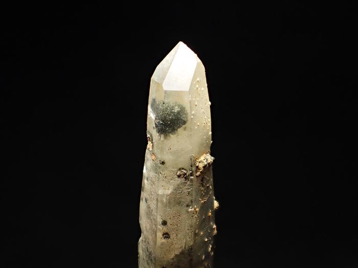 長野県甲武信鉱山産 水晶、楔石&緑泥石 (Quartz, Titanite & Chlorite / Japan)-photo7