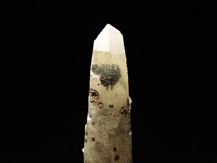 長野県甲武信鉱山産 水晶、楔石&緑泥石 (Quartz, Titanite & Chlorite / Japan)-photo18