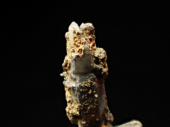 長野県甲武信鉱山産 水晶、楔石&緑泥石 (Quartz, Titanite & Chlorite / Japan)-photo9
