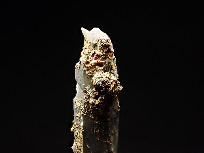 長野県甲武信鉱山産 水晶、楔石&緑泥石 (Quartz, Titanite & Chlorite / Japan)-photo10
