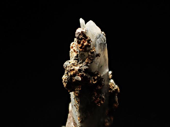 長野県甲武信鉱山産 水晶、楔石&緑泥石 (Quartz, Titanite & Chlorite / Japan)-photo11