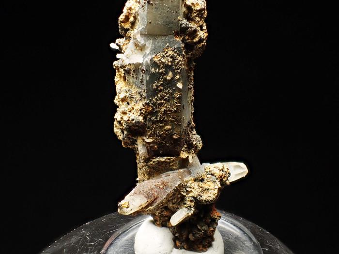 長野県甲武信鉱山産 水晶、楔石&緑泥石 (Quartz, Titanite & Chlorite / Japan)-photo14