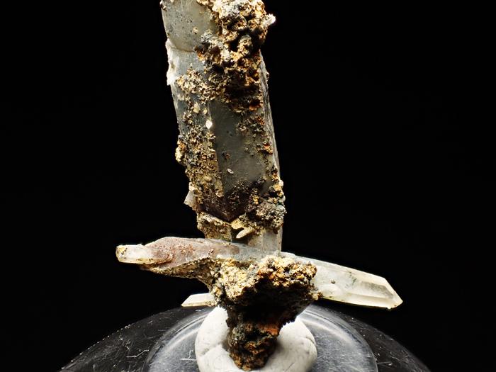 長野県甲武信鉱山産 水晶、楔石&緑泥石 (Quartz, Titanite & Chlorite / Japan)-photo15