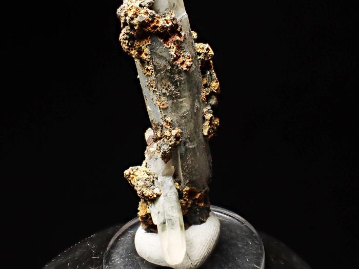 長野県甲武信鉱山産 水晶、楔石&緑泥石 (Quartz, Titanite & Chlorite / Japan)-photo16