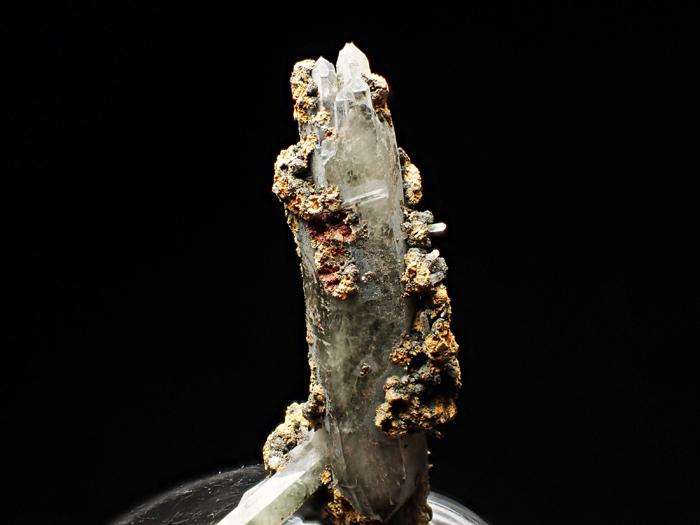 長野県甲武信鉱山産 水晶、楔石&緑泥石 (Quartz, Titanite & Chlorite / Japan)-photo17