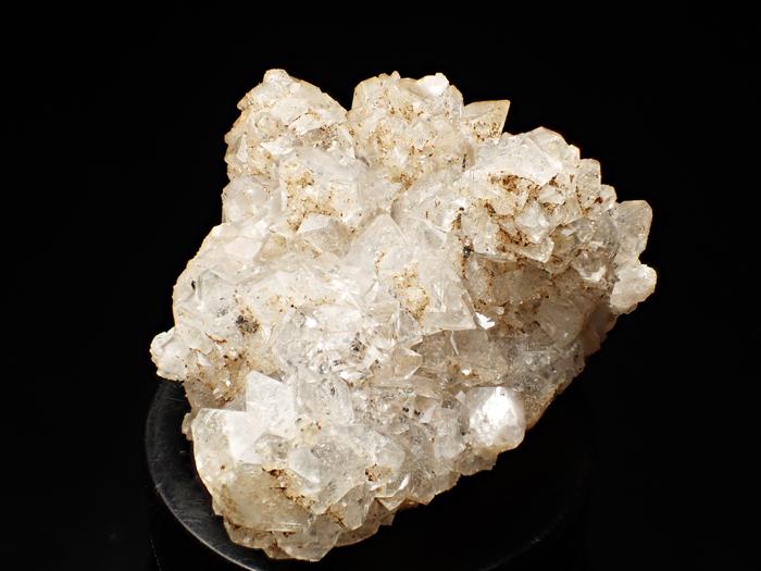 岐阜県神岡鉱山産 水晶、魚眼石&珪灰鉄鉱 (Quartz, Apophyllite & Ilvaite / Japan)-photo2