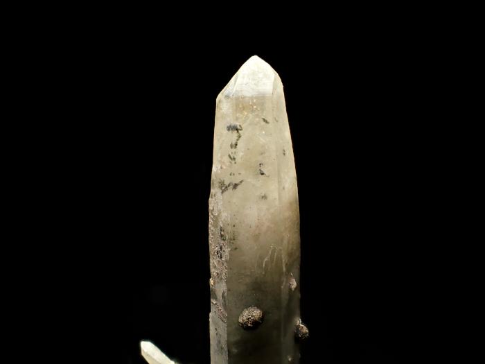 長野県甲武信鉱山産 水晶、楔石&緑泥石 (Quartz, Titanite & Chlorite / Japan)-photo6