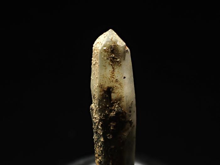 長野県甲武信鉱山産 水晶、楔石&緑泥石 (Quartz, Titanite & Chlorite / Japan)-photo8