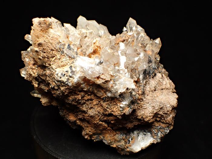 奈良県天川村産 水晶&珪灰鉄鉱 (Quartz & Ilvaite / Japan)-photo3