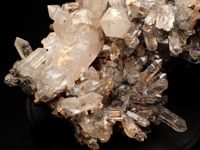奈良県天川村産 水晶&珪灰鉄鉱 (Quartz & Ilvaite / Japan)-photo8