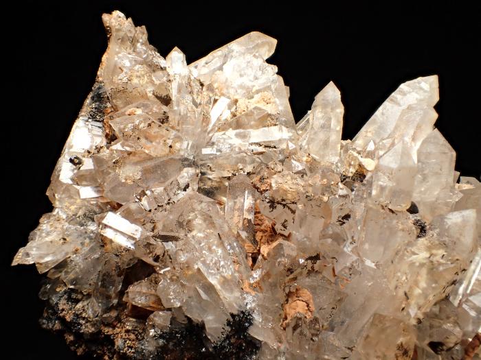 奈良県天川村産 水晶&珪灰鉄鉱 (Quartz & Ilvaite / Japan)-photo12