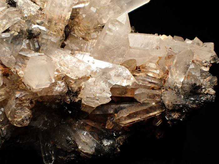 奈良県天川村産 水晶&珪灰鉄鉱 (Quartz & Ilvaite / Japan)-photo15