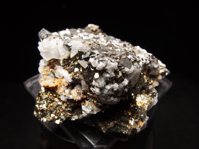 コソボ産アーセノパイライト、シデライト&カルサイト (Arsenopyrite, Siderite & Calcite / Kosovo)-photo5