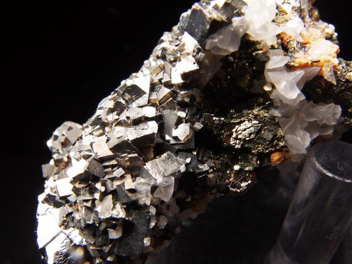 コソボ産アーセノパイライト、シデライト&カルサイト (Arsenopyrite, Siderite & Calcite / Kosovo)-photo12