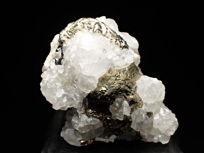 コソボ産パイライト&カルサイト (Pyrite & Calcite / Kosovo)-photo6