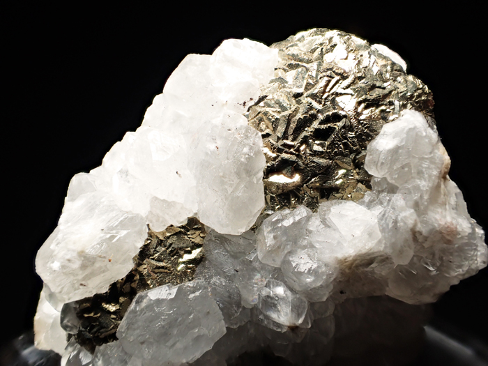 コソボ産パイライト&カルサイト (Pyrite & Calcite / Kosovo)-photo9