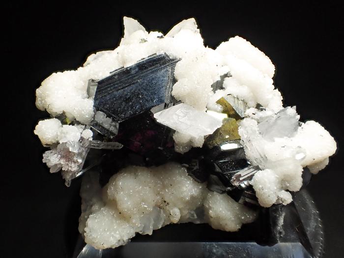 コソボ産スファレライト、シデライト&クォーツ (Sphalerite, Siderite & Quartz / Kosovo)-photo0
