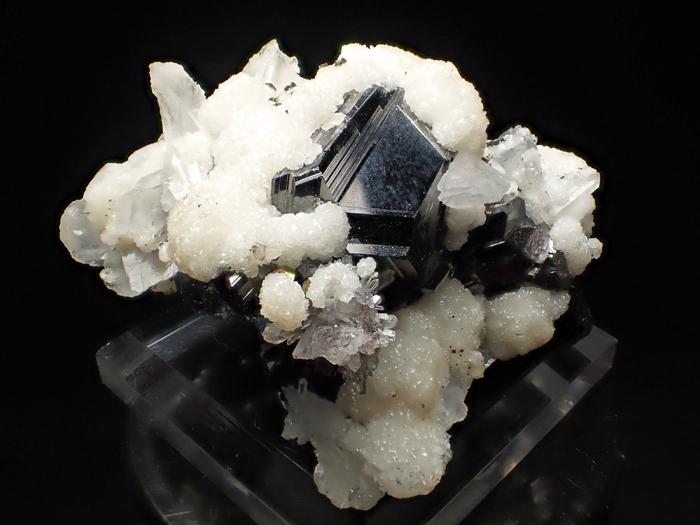 コソボ産スファレライト、シデライト&クォーツ (Sphalerite, Siderite & Quartz / Kosovo)-photo7