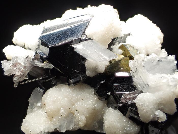 コソボ産スファレライト、シデライト&クォーツ (Sphalerite, Siderite & Quartz / Kosovo)-photo8