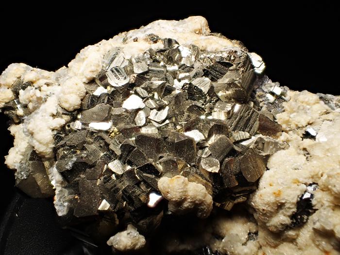 コソボ産パイライト、シデライト&カルサイト (Pyrite, Siderite & Calcite / Kosovo)-photo2