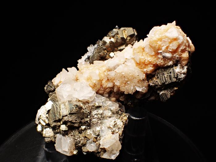 コソボ産パイライト、アーセノパイライト&シデライト (Pyrite, Arsenopyrite & Siderite / Kosovo)-photo2
