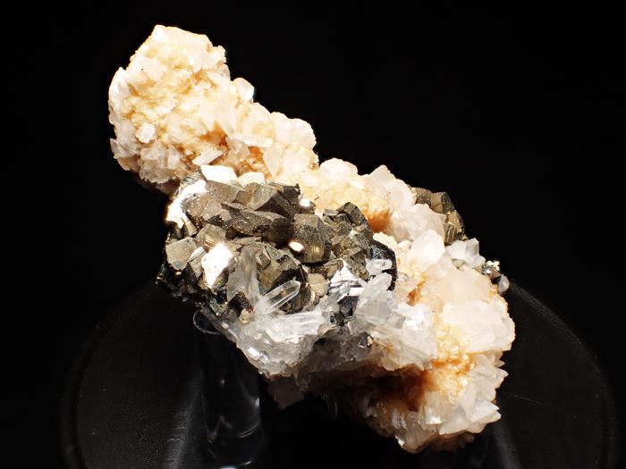 コソボ産パイライト、アーセノパイライト&シデライト (Pyrite, Arsenopyrite & Siderite / Kosovo)-photo5