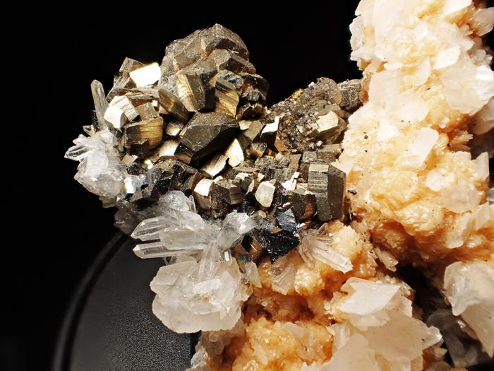 コソボ産パイライト、アーセノパイライト&シデライト (Pyrite, Arsenopyrite & Siderite / Kosovo)-photo7