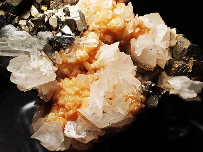 コソボ産パイライト、アーセノパイライト&シデライト (Pyrite, Arsenopyrite & Siderite / Kosovo)-photo13