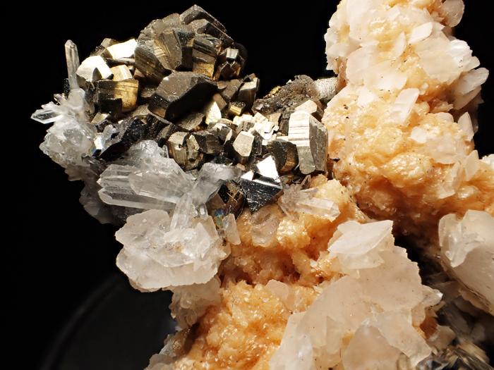 コソボ産パイライト、アーセノパイライト&シデライト (Pyrite, Arsenopyrite & Siderite / Kosovo)-photo15