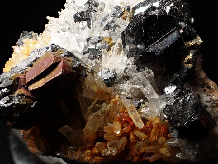 コソボ産クォーツ、スファレライト、ガレーナ&キャルコパイライト (Quartz, Sphalerite, Galena & Chalcopyrite / Kosovo)-photo9