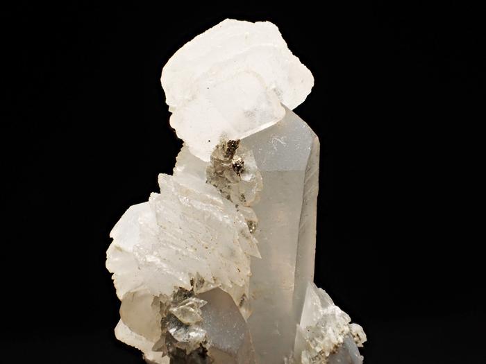 コソボ産クォーツ、カルサイト&パイライト (Quartz, Calcite & Pyrite / Kosovo)-photo6