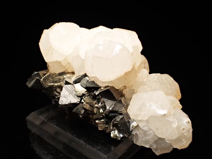 コソボ産アーセノパイライト&カルサイト (Arsenopyrite & Calcite / Kosovo)-photo1