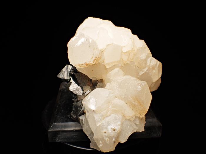 コソボ産アーセノパイライト&カルサイト (Arsenopyrite & Calcite / Kosovo)-photo2