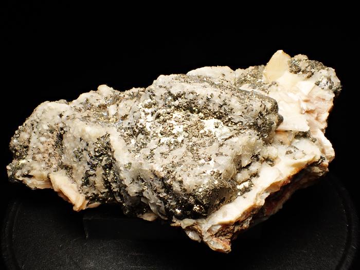 コソボ産パイライト、カルサイト&ドロマイト (Pyrite, Calcite & Dolomite / Kosovo)-photo0