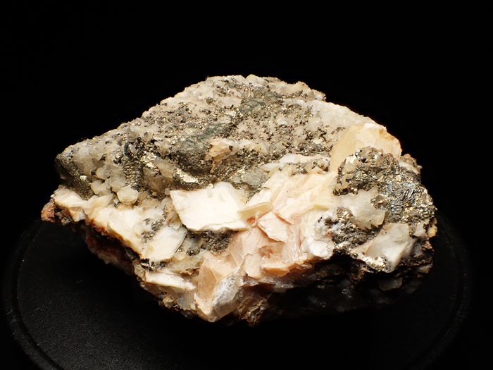 コソボ産パイライト、カルサイト&ドロマイト (Pyrite, Calcite & Dolomite / Kosovo)-photo2