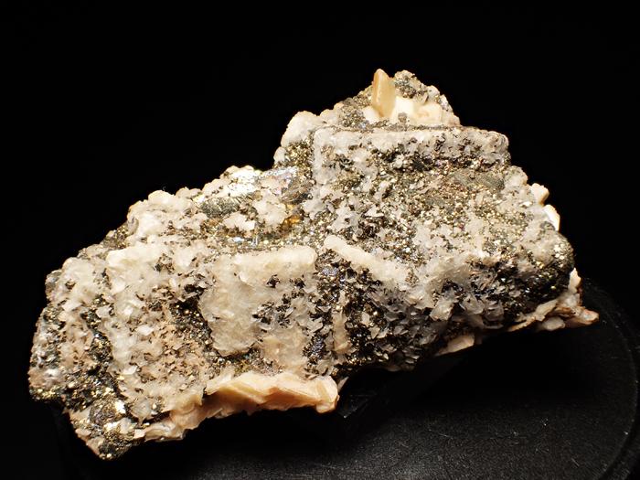 コソボ産パイライト、カルサイト&ドロマイト (Pyrite, Calcite & Dolomite / Kosovo)-photo7